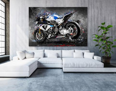 Poster BMW HP4 Race