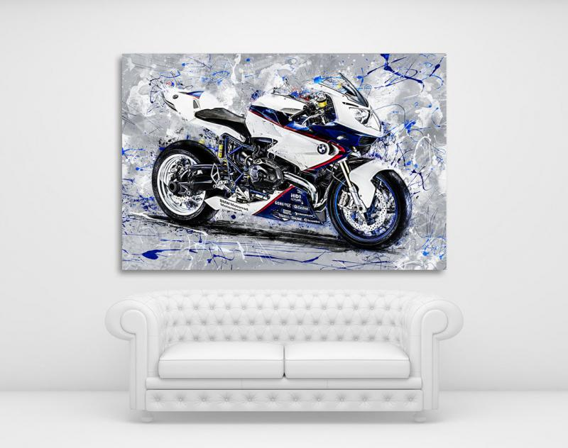 Poster BMW HP2